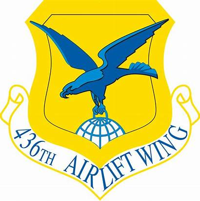 Wing Airlift 436th Air Force Shield Dover