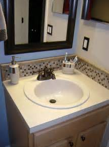 Tiles For Backsplash In Bathroom by Bathroom Sink Backsplash Tile Home Design Ideas