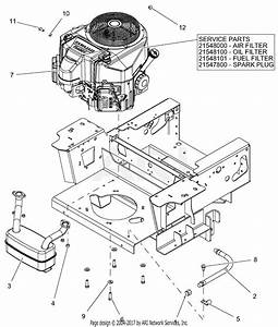 Gravely 991202  030000 - 039999  Pro-turn 60 U0026quot  Parts Diagram For Engine