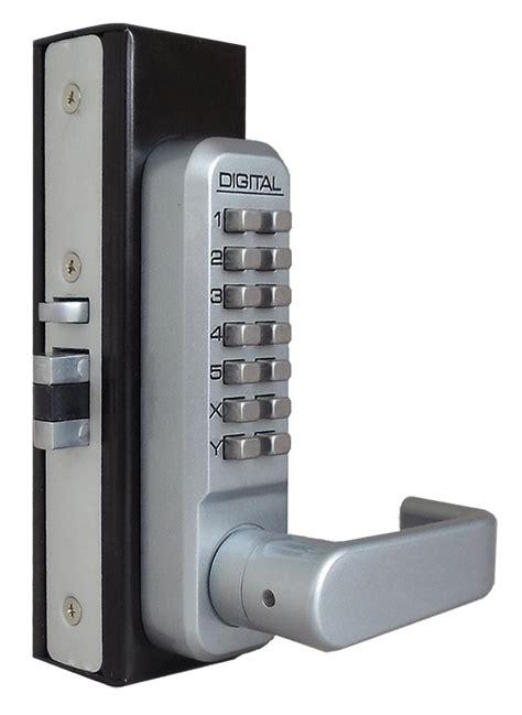 digital door lock lockey 2985 keyless mechanical digital rite style