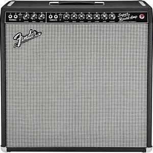 Fender Vintage Reissue  U0026 39 65 Super Reverb Guitar Combo  With