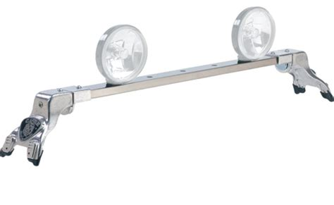 Carr Light Bar by Carr Deluxe Rota Light Mounting Bar Polished Stainless