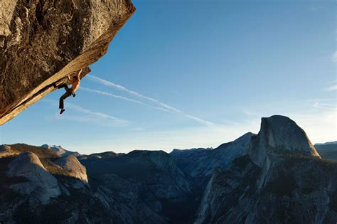 How Dean Potter Reinvented Climbing Jumping Flying