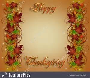 Fall Thanksgiving Borders