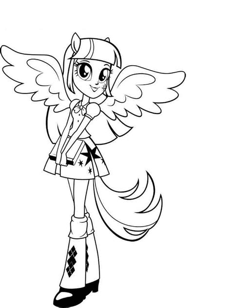equestria girls coloring pages    print