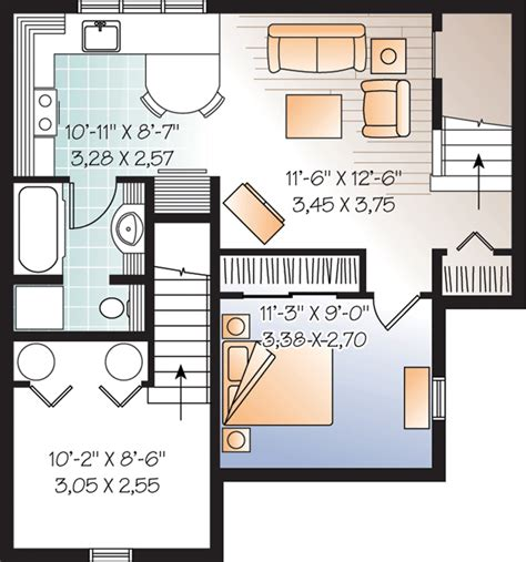 basement apartment floor plans beautiful basement suite house plan hunters