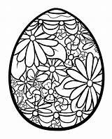 Easter Egg Coloring Flowers Pages Adult Adults Mandala Coloriage Eggs Oeufs Sheets Printable Justcolor Paques Colorier Spring sketch template