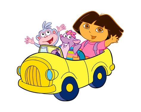 Cartoon Characters Dora The Explorer Png