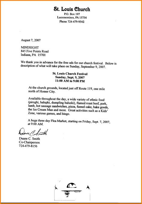 thank you letter for donation 12 church contribution letter cio resumed 2866