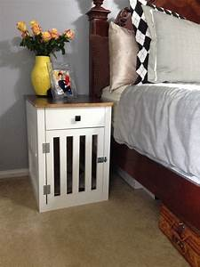 going to the dogs diy dog crate nightstands With bedside dog crate