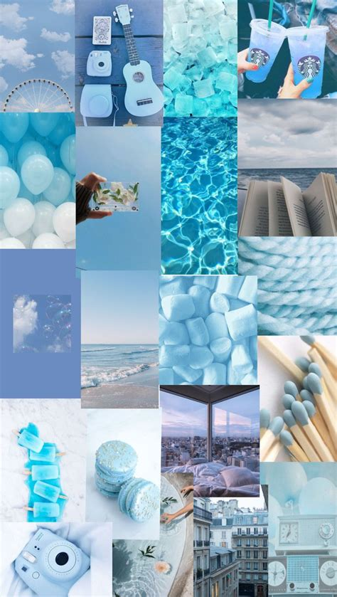 blue collage   iphone wallpaper tumblr aesthetic iphone wallpaper vintage pretty