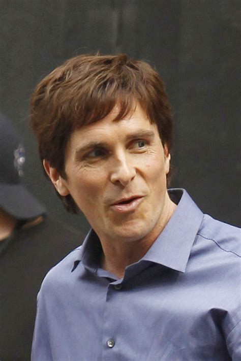 Cele Bitchy Christian Bale Looks Buff Hairy New