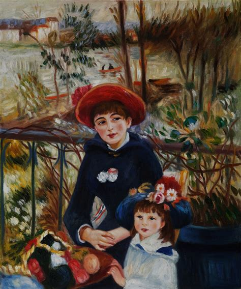 Renoir Two Sisters On The Terrace 1881