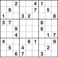 Easy Printable Sudoku Sheets