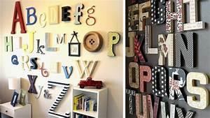 Lettre En Carton À Peindre : crire sur ses murs techniques et conseils lettres en bois carton et bonnes id es ~ Nature-et-papiers.com Idées de Décoration