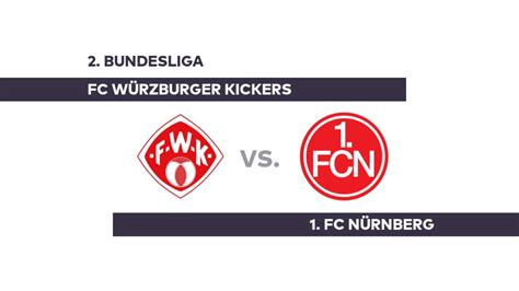 Bundesliga, with an overview of fixtures, tables, dates, squads, market values, statistics and history. FC Würzburger Kickers - 1. FC Nürnberg: Nürnberg will ...
