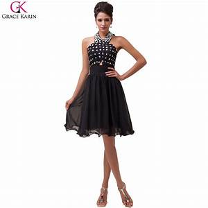 grace karin halter luxury black short cocktail dresses With summer cocktail dresses for weddings