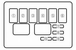 Mazda Mx-5  2002 - 2004  - Fuse Box Diagram