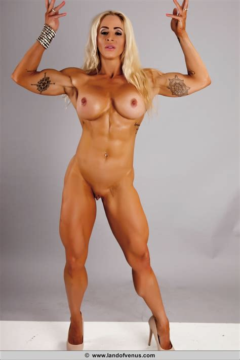 Nude Female Muscle Girl Jill Jaxen