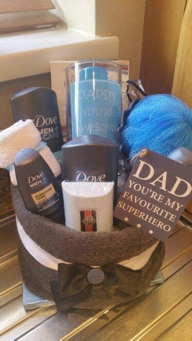 towel cake  minute diy fathers day gifts