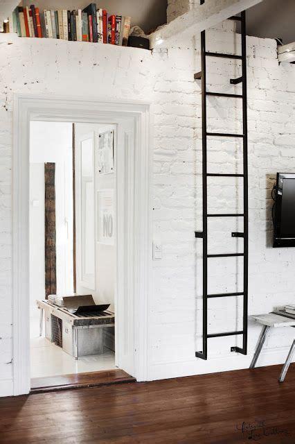 attic ladder ideas  pinterest stair ladder