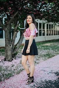 Girly-satin-trend-skater-skirt-7 - Sincerely Katerina