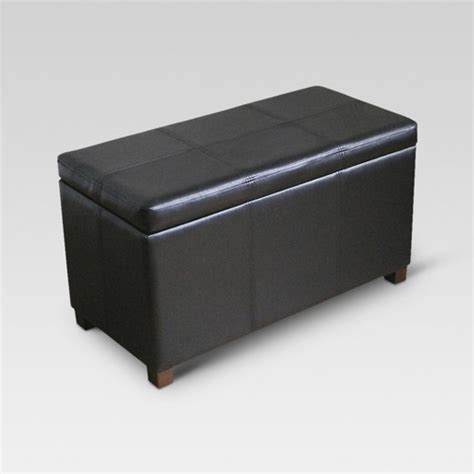 Target Ottomans Footstools by Storage Ottoman Black Threshold Target