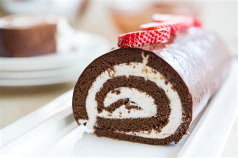 cake roll chocolate swiss roll cake the pioneer woman