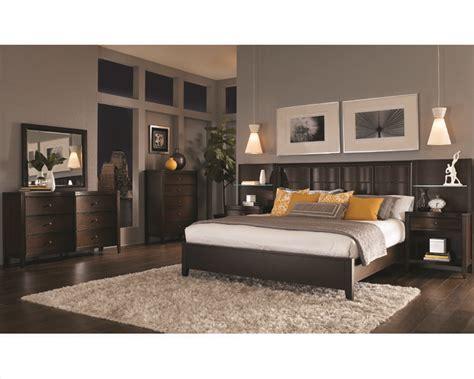 Aspen Bedroom Set by Aspenhome Bedroom W Panel Bed Wall Contour Asi11 427 2967set