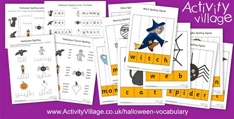 Learn Halloween Spellings And Vocabulary