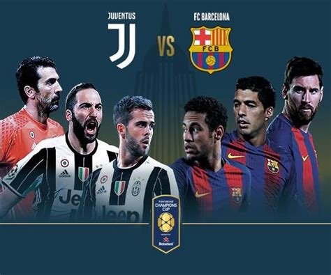 Juventus vs Barcelona en Vivo – International Champions ...