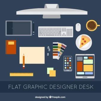 bureau graphiste graphiste vecteurs et photos gratuites