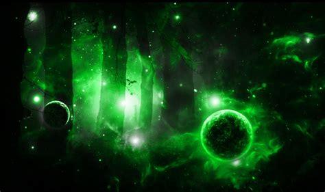 Green Galaxy By Gethro92 On Deviantart