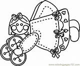Sewing Machine Coloring Pages Template sketch template