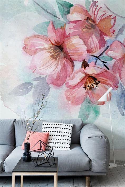 decorando  murales llenos de flores xxl la tendencia