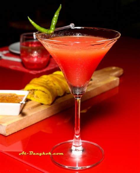 sweet alcoholic drinks chili hip at centara watergate pavilion