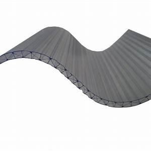 Plaque Alvéolaire Pour Toiture : plaque polycarbonate ondul alv olaire grandes ondes 0 ~ Edinachiropracticcenter.com Idées de Décoration