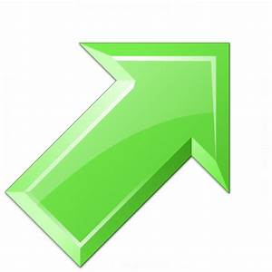IconExperience » V-Collection » Arrow Up Right Green Icon