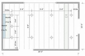 How to layout recessed lighting in basement : Recessed lighting spacing lilianduval