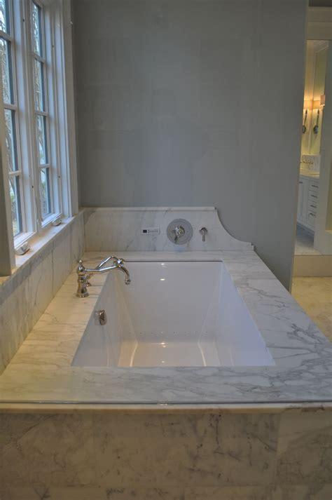 undermount tub bathroom design luxury bath remodel
