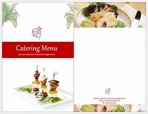 Microsoft Excel Free Downloads Venue Catering Menu Template Free Template Downloads