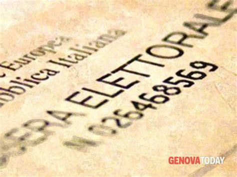 Ufficio Elettorale Genova - come e dove fare duplicato tessera elettorale genova