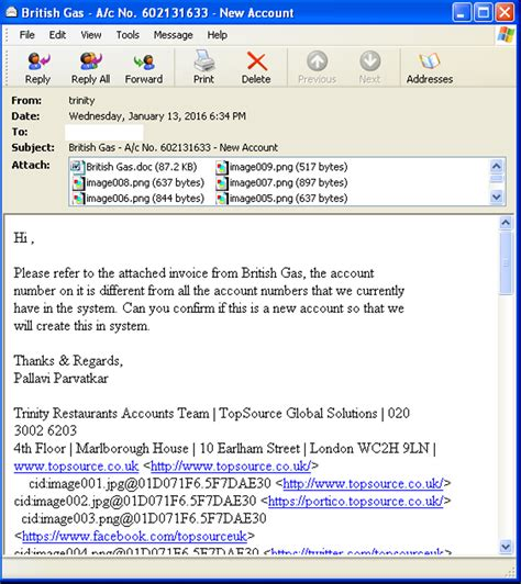 Work Resumes After Holidays by Dridex Botnet Resumes Spam Operations After The Holidays