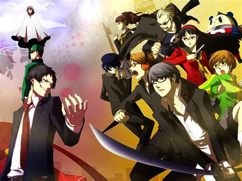 Persona 4 The Animation Wallpaper - persona 4 fight persona 4 the animation wallpaper