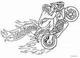 Pages Coloring Motorcycle Printable Davidson Harley Drawing Rampage Cool2bkids Getcolorings Getdrawings Template sketch template