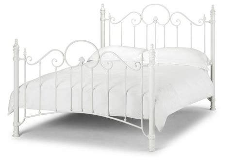 Wrought Iron Headboards King Size Beds by Julian Bowen Florence Stone White Wrought Iron Beds