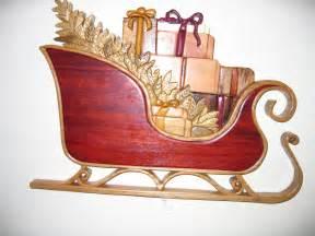 woodwork wooden santa sleigh pdf plans