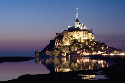 Famous Landmark In France, Le Mont Saintmichel