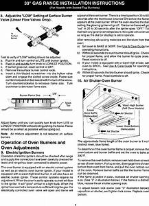 Kenmore 79075604102 User Manual Gas Range Manuals And