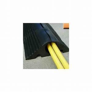 Passage De Cable Au Sol : passage souple pour c bles au sol en caoutchouc ansemble ~ Dailycaller-alerts.com Idées de Décoration